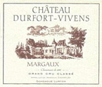 Chateau Durfort Vivens (Margaux) 2003 Bottle