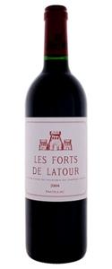 2004 Les Forts De Latour Pauillac Bottle