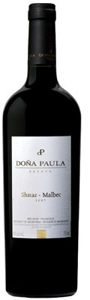 Doña Paula Estate Shiraz/Malbec 2007, Mendoza Bottle