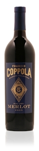 Francis Coppola Diamond Collection Blue Label Merlot 2007, California Bottle