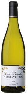 Terres Blanches Muscat Sec 2007, Vin De Pays D'oc (Cave Des Vignerons De Frontignan) Bottle