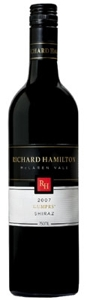 Richard Hamilton Gumprs' Shiraz 2007, Mclaren Vale, South Australia Bottle