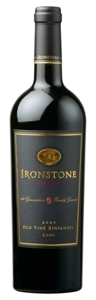 Ironstone Reserve Old Vine Zinfandel 2007, Lodi Bottle