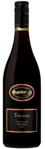 Torlesse Pinot Noir 2008, Waipara, Canterbury, South Island Bottle