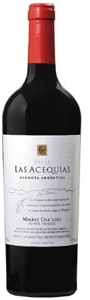 Luis Acequias Malbec Oak 2005, Mendoza Bottle
