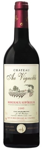 Château Au Vignoble 2005, Ac Bordeaux Supérieur Bottle