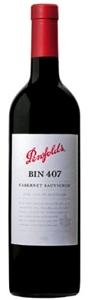 Penfolds Bin 407 Cabernet Sauvignon 2006, South Australia Bottle