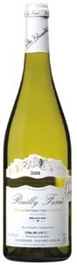 Gilles Blanchet Pouilly Fumé 2008, Ac Bottle