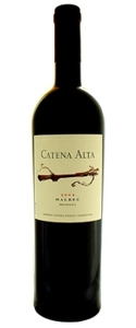 Catena Alta Malbec 2006, Mendoza Bottle