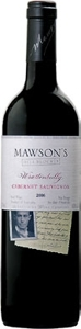 "Mawson's Hill Block 3 Cabernet Sauvignon 2005, ""Wrattonbully, South Australia"" Bottle"