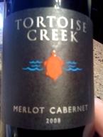 Tortoise Creek Merlot Cabernet 2008 Vin De Pays D'oc Bottle