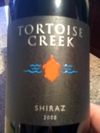 Tortoise Creek Shiraz 2008 Vin De Pays D'oc Bottle