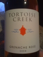 Tortoise Creek Grenache Rose 2008 Vin De Pays D'oc Bottle