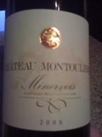 Chateau Montouliers, Aoc Minervois, 2008 Bottle