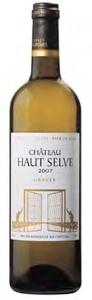 Château Haut Selve 2007, Ac Graves Bottle