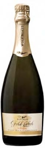 Wolf Blass Gold Label Sparkling Pinot Noir/Chardonnay 2005, South Australia/Victoria Bottle