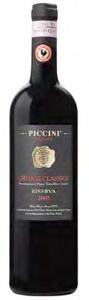 Piccini Chianti Classico Riserva 2005 Bottle