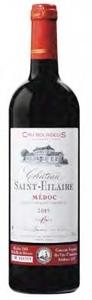 Château Saint Hilaire 2005, Ac Médoc Bottle
