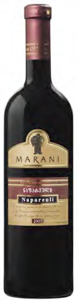 Telavi Wine Cellar Marani 2005, Napareuli, Kakheti Region Bottle