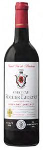 Château Rocher Lideyre 2005, Ac Côtes De Castillon Bottle