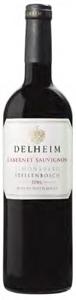 Delheim Cabernet Sauvignon 2006, Wo Simonsberg Stellenbosch Bottle