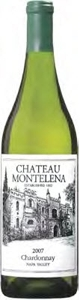 Chateau Montelena Chardonnay 2007, Napa Valley Bottle