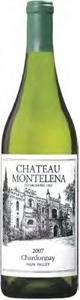 Chateau Montelena Chardonnay 2007, Napa Valley Bottle