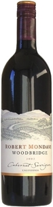 Robert Mondavi Woodbridge Cabernet Sauvignon 2007, California Bottle