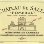 Chateau De Sales 2004 Bottle