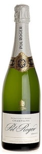 Pol Roger Champagne Bottle