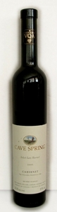 Cave Spring Select Late Harvest Cabernet 2005 VQA Beamsville Bench Bottle