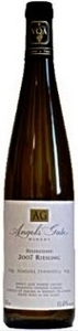 Angels Gate Riesling Sussreserve 2008, Niagara Peninsula Bottle