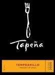 Tapena Tempranillo 2008, La Tierra De Castilla Bottle