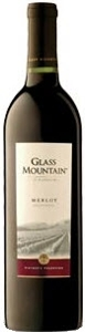 Glass Mountain Merlot 2005, California Bottle