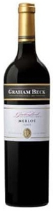 Graham Beck Merlot 2006, Wo Coastal Region Bottle
