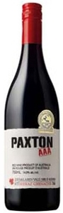 Paxton Aaa Shiraz/Grenache 2007, Mclaren Vale, South Australia Bottle