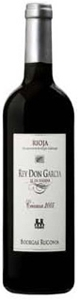 Bodegas Ruconia Rey Don Garcia Crianza 2005, Doca Rioja Bottle