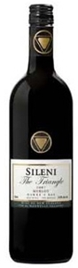 Sileni Estates The Triangle Merlot 2007, Hawkes Bay, North Island Bottle