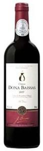 Château Dona Baissas Cuvée Per Dona Côtes Du Roussillon Villages 2007, Ac Bottle
