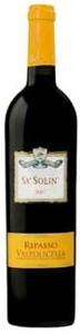 Corte Zovo Sa' Solin Ripasso 2007, Doc Valpolicella Bottle