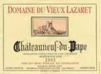 Domaine Du Vieux Lazaret Cuvée Exceptionnelle 2005 Bottle