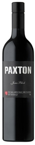 Paxton Jones Block Shiraz 2005, Mclaren Vale, South Australia Bottle