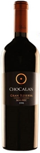 Chocalán Gran Reserva Malbec 2006, Maipo Valley Bottle