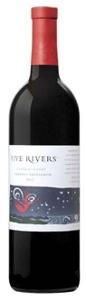 Five Rivers Cabernet Sauvignon 2007, Central Coast Bottle