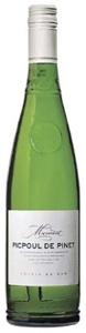 Mermont Picpoul De Pinet 2008, Ac Côteaux De Languedoc Bottle
