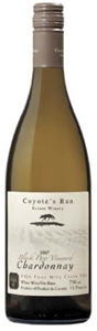 Coyote's Run Black Paw Vineyard Chardonnay 2007, VQA Four Mile Creek, Niagara Peninsula Bottle