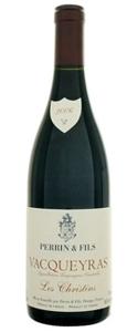 Perrin & Fils Les Christins Vacqueyras 2007, Ac, Rhône Valley Bottle