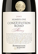 Robertson Winery Number One Constitution Road 2005 Bottle