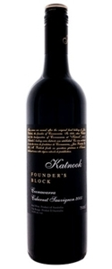Katnook Founder's Block Cabernet Sauvignon 2007, Coonawarra, South Australia Bottle