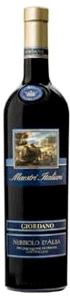 Giordano Maestri Italiani Nebbiolo D'alba 2007, Doc Bottle